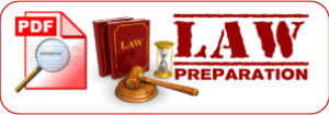 LAW PREPARATION HEADER